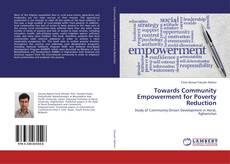 Buchcover von Towards Community Empowerment for Poverty Reduction