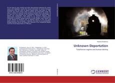 Capa do livro de Unknown Deportation