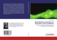 Capa do livro de Quantitative estimates on boundary value problems