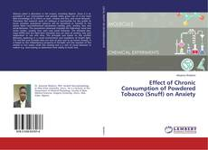 Обложка Effect of Chronic Consumption of Powdered Tobacco (Snuff) on Anxiety