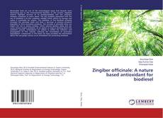 Bookcover of Zingiber officinale: A nature based antioxidant for biodiesel