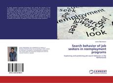 Bookcover of Search behavior of job seekers in reemployment programs