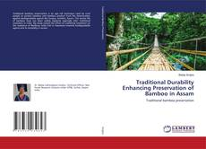Capa do livro de Traditional Durability Enhancing Preservation of Bamboo in Assam