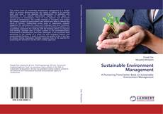 Bookcover of Sustainable Environment Management