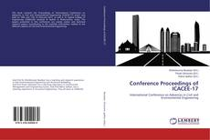 Couverture de Conference Proceedings of ICACEE-17