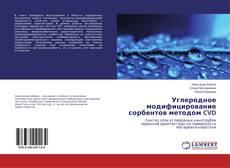 Portada del libro de Углеродное модифицирование сорбентов методом CVD