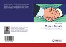Bookcover of Misery of Concepts