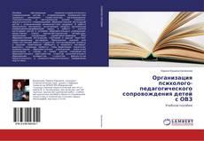 Обложка Организация психолого-педагогического сопровождения детей с ОВЗ