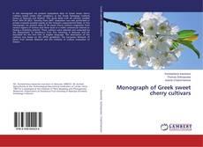 Monograph of Greek sweet cherry cultivars的封面