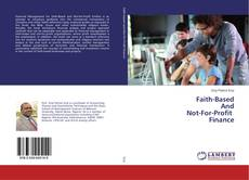 Couverture de Faith-Based And Not-For-Profit Finance