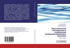 Bookcover of Акустическая экспертиза и коррекция коммуникационных каналов
