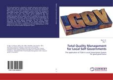 Bookcover of Total Quality Management for Local Self Governments