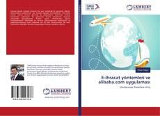 E-ihracat yöntemleri ve alibaba.com uygulaması kitap kapağı