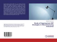 Study of Appropriate ERP Strategies in Manufacturing Industries的封面