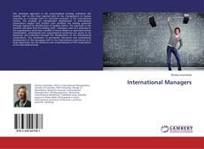 Обложка International Managers