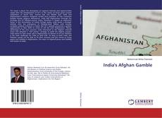 Bookcover of India's Afghan Gamble