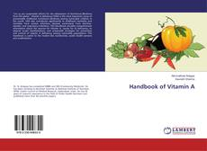Bookcover of Handbook of Vitamin A