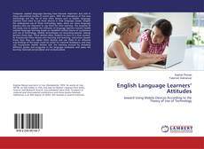Bookcover of English Language Learners' Attitudes