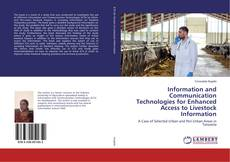 Обложка Information and Communication Technologies for Enhanced Access to Livestock Information