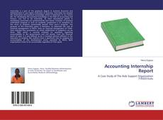 Bookcover of Accounting Internship Report