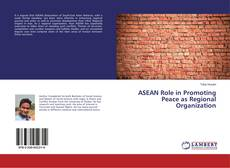 Capa do livro de ASEAN Role in Promoting Peace as Regional Organization