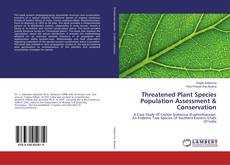 Обложка Threatened Plant Species Population Assessment & Conservation