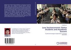 Buchcover von Low Socioeconomic Status Students and Academic Success