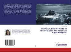 Buchcover von Politics and Motherhood in the Cold War: The American Public Relations