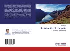 Bookcover of Sustainability of Humanity