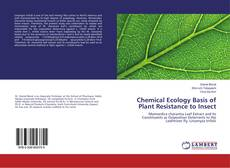Bookcover of Chemical Ecology Basis of Plant Resistance to Insect