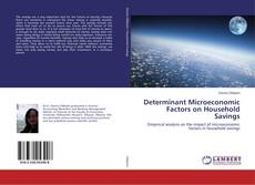 Bookcover of Determinant Microeconomic Factors on Household Savings