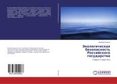 Bookcover of Экологическая безопасность Российского государства