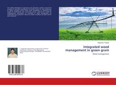 Bookcover of Integrated weed management in green gram