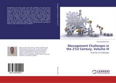 Capa do livro de Management Challenges in the 21st Century. Volume III