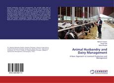 Couverture de Animal Husbandry and Dairy Management