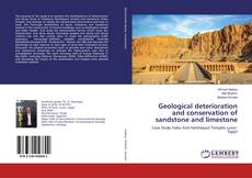 Buchcover von Geological deterioration and conservation of sandstone and limestone