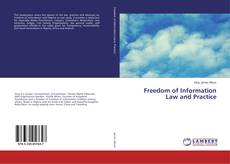 Bookcover of Freedom of Information Law and Practice