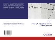 Bookcover of Strength Properties of Self-healing Mortars