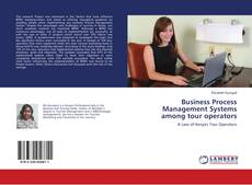 Portada del libro de Business Process Management Systems among tour operators