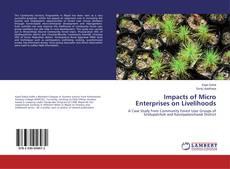 Buchcover von Impacts of Micro Enterprises on Livelihoods