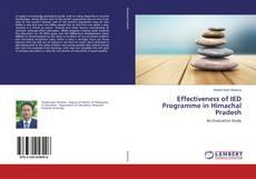 Обложка Effectiveness of IED Programme in Himachal Pradesh