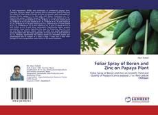 Bookcover of Foliar Spray of Boron and Zinc on Papaya Plant