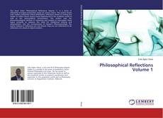 Copertina di Philosophical Reflections Volume 1