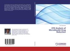 Bookcover of CFD Analysis of Microbbuble Drag Reduction