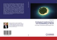 Bookcover of Ecological modernization and ecolabelling in Brazil