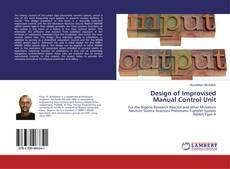 Capa do livro de Design of Improvised Manual Control Unit