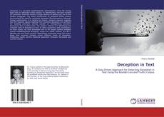 Bookcover of Deception in Text