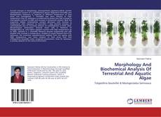 Copertina di Morphology And Biochemical Analysis Of Terrestrial And Aquatic Algae