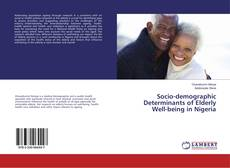 Bookcover of Socio-demographic Determinants of Elderly Well-being in Nigeria