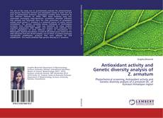 Capa do livro de Antioxidant activity and Genetic diversity analysis of Z. armatum